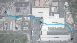 Проект Las Vegas Convention Center Loop Илона Маска