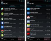 Приложение App Ops, доступное на Android 4.3.